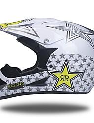 billige -motocross voksne / teenager unisex motorcykelhjelmstyrke / bedste kvalitet / hjelm med beskyttelsesbriller