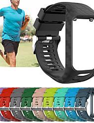 Недорогие -замена силиконовый браслет ремешок для часов ремешок для TomTom бегун 2 / бегун 3 / искра 3 / игрок в гольф 2 браслет ремень аксессуар