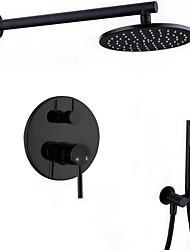 Недорогие -Смеситель для душа - Современный Неприменимо На стену Керамический клапан Bath Shower Mixer Taps