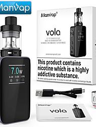 Недорогие -Mnwp&рег; vola 7 Вт - 100 Вт электронная коробка для сигарет мод svapo комплект аккумуляторная 2000 мАч аккумулятор / верхний наполнитель 2.0 мл распылитель