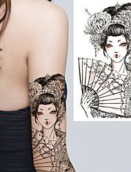 Недорогие -3 pcs Временные татуировки Защита от влаги / Лучшее качество плечо / Грудь Временные тату