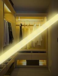 Недорогие -1 компл. Светодиодный инфракрасный датчик человеческого тела лампа белый / теплый белый USB зарядка ночник кабинет коридор лампы 297 мм