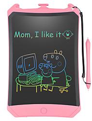 Недорогие -цветной экран жк-планшет для детей игрушки для 3-12 лет девочек 8,5-дюймовый доска для рисования и письма с кнопкой блокировки стирания для взрослых для школы и офиса