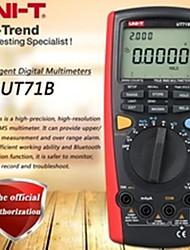 Недорогие -uni-t ut71b умный цифровой мультиметр true rms мультиметр USB / Bluetooth передача данных двойная подсветка тест температуры