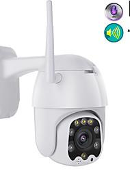 Недорогие -1080p wi-fi беспроводной открытый PTZ cmos ip-камера h.265x скоростная купольная камера видеонаблюдения ip66