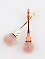abordables -Profesional Pinceles de maquillaje 1 Pieza Creativo Suave Nuevo diseño Adorable Confortable Plástico para Herramientas de Maquillaje Pinceles de Maquillaje Brocha para Colorete Brocha de maquillaje