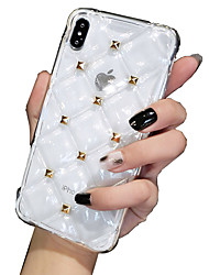 Недорогие -чехол для apple iphone xs / iphone xr / iphone xs max / iphone 8 / iphone 8 plus / iphone 7 plus / iphone x / iphone 7 / iphone 6s plus / iphone 6s / 6 с противоударным силиконовым чехлом