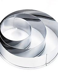 Недорогие -1шт Нержавеющая сталь + категория А (ABS) Для приготовления пищи Посуда Формы для пирожных Инструменты для выпечки