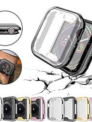 Недорогие -Сверхтонкий тубу защитного бампера для Apple Watch серии 4/3/2/1 40/44/38/42 мм