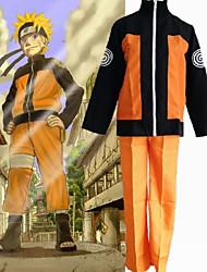 Недорогие -Вдохновлен Наруто Hatake Kakashi / Naruto Uzumaki Аниме Косплэй костюмы Японский Косплей Костюмы Костюм Назначение Муж. / Жен.