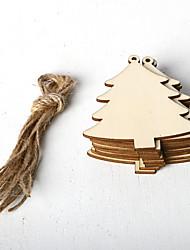 Недорогие -украшения из дерева 10 рождество
