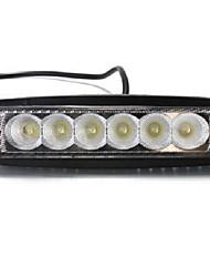 Недорогие -LITBest 1pcs Автомобиль Лампы 18 W 1200 lm 6 Светодиодная лампа Фары дневного света / Рабочее освещение Назначение Универсальный Все года