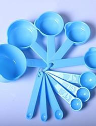 Недорогие -пластик Инструменты Столовая и кухня Ложка Инструменты Измерительный прибор Креатив Кухонная утварь Инструменты Многофункциональный Для приготовления пищи Посуда Необычные гаджеты для кухни 1 комплект