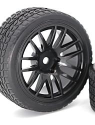 Недорогие -2 * 1/10 Scale RC Car Tire - 2pcs Other Ластик Неприменимо