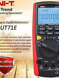 Недорогие -Интеллектуальные цифровые мультиметры uni-t ut71e ЖК-дисплей Истинное среднеквадратичное значение переменного и постоянного тока Вольт-ампер Ом Современные многодиапазонные автоматические тестеры с