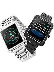 Недорогие -v60 1.3 водонепроницаемый мода умные часы напоминание кровяное давление спорт погода толчок музыка управления фитнес браслет группа