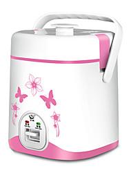 Недорогие -Электрическая рисоварка 1.2 L Один экземляр Компактность Многофункциональный Прочный за 1 - 2 человека Aluminum Alloy на открытом воздухе Отдых и Туризм Путешествия Пикник Белый Розовый