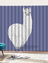 Недорогие -Украшение дома простой дизайн шторы для ванны уф-печать водонепроницаемый против морщин стержень набор занавески для душа готовые