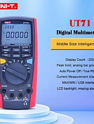 Недорогие -цифровой мультиметр uni-t ut71a переменный ток постоянное напряжение usb true rel тестер сопротивления амперметр multitester с функцией bluetooth