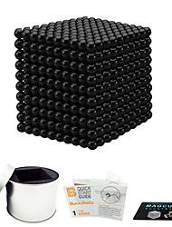 Недорогие -216 pcs 5mm Магнитные игрушки Магнитные шарики Конструкторы Сильные магниты из редкоземельных металлов Неодимовый магнит Магнит Неодимовый магнит Изысканный и современный