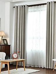 Недорогие -Солнцезащитные 2 шторы Занавес Гостиная   Curtains