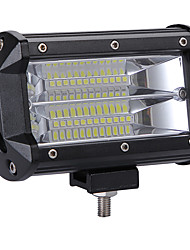 Недорогие -Профессиональный высокой мощности 240 Вт светодиодные 2 ряда 5 дюймов рабочий свет бар вождения лампы цветовая температура 6000 К пакет 1 шт.