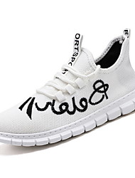 Недорогие -Муж. Комфортная обувь Tissage Volant Лето Спортивная обувь Черный / Белый / Оранжевый