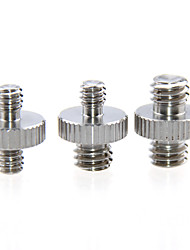 Недорогие -Camvate 1 / 4Male к 1 / 4Male&усилитель; 1/4 мужчин до 3/8 мужчин&усилитель; Переходник с внутренней резьбой 3/8 на 3/8 для штатива камеры c1230