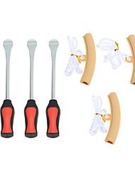 Недорогие -Комплект инструментов для протектора ободьев колесных ложек для смены шин для мотоциклов