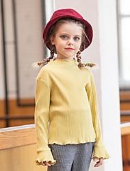 povoljno -Djeca Djevojčice Osnovni Jednobojni Dugih rukava Bluza Bijela