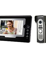 Недорогие -810m11 проводной 7-дюймовый громкой связи 800 * 480 пикселей один на один видео домофон