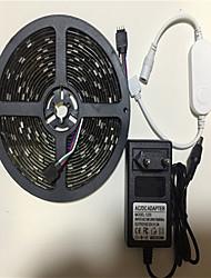 Недорогие -5 метров Гибкие светодиодные ленты / Наборы ламп / RGB ленты 150 светодиоды SMD5050 1 адаптер x 12V 3A RGB Контроль APP / Творчество / Для вечеринок 100-240 V 1 комплект / IP65