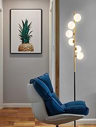 Недорогие -современный творческий торшер из матового стекла шариковая лампа индивидуальность стандартная лампа 6 фары высокий полюс для гостиной кабинет кабинет спальня домашнего освещения