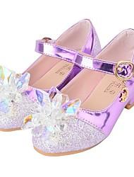 Недорогие -Девочки Детская праздничная обувь Полиуретан Обувь на каблуках Маленькие дети (4-7 лет) Лиловый / Розовый Лето