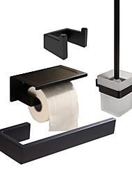 Недорогие -держатель для туалетной щетки / вешалка для полотенец / набор аксессуаров для ванной комнаты креативный / многофункциональный / новый дизайн классический / современный металл / из нержавеющей стали /