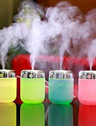 Недорогие -1 шт. USB питание увлажнитель воздуха для устранения статической очистки воздуха по уходу за кожей нано-спрей технологии немой дизайн 7 фары автомобильный офис ночной свет маленькая рыбья пасть косой