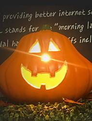 Недорогие -Праздничные украшения Украшения для Хэллоуина Декоративные объекты Светодиодная лампа Желтый 1шт