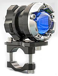 Недорогие -Светодиодный прожектор Мотоцикл Декоративное освещение Фара 48В Фары противотуманные фары яркий светоизлучающий цветглянцевый глаз красный свет