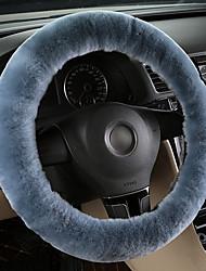 Недорогие -мягкая крышка рулевого колеса из тика