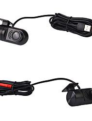 Недорогие -Автомобильный видеорегистратор камеры 140 градусов HD 720 P фронтальная камера для Android автомобильный USB-радио плеер DVR камеры