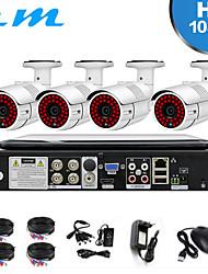 Недорогие -4-х канальный видеорегистратор с монитором на экране домашнего монитора 2 миллиона одна машина