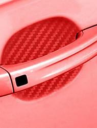 Недорогие -4 шт. / Компл. Углеродного волокна клей стикер автомобиля ручка защиты