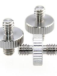 Недорогие -camvate 1 / 4маленький к 1 / 4маленький винтовой переходник с двусторонним креплением (3 шт) c1229