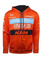 Недорогие -2017 новый ктм свитер мотоцикл локомотив случайный костюм всадника флис теплая кофта куртка для бездорожья езда свитер мужской оранжевый
