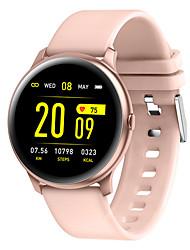 Недорогие -KW19 Smart Watch BT Поддержка фитнес-трекер уведомлять / монитор сердечного ритма Спорт Bluetooth SmartWatch совместимые телефоны IOS / Android