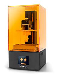 Недорогие -более длинный оранжевый 10 жк-принтер 3d уф-смолы 3d-принтер с размером сборки 98x55x140 мм / 2,8 дюйма смарт-сенсорный экран / офлайн печать