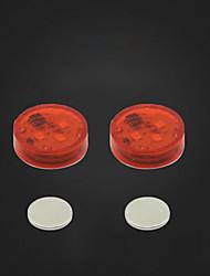 Недорогие -Универсальная автомобильная дверь светодиодная открывающаяся сигнальная лампа безопасного вспышка красный комплект
