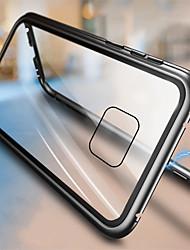 Недорогие -магнитный магнитный адсорбционный металлический стеклянный корпус для huawei mate 20 pro mate 20 задняя крышка чехол для huawei mate 20 lite