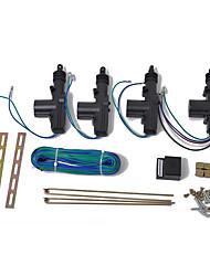 Недорогие -Комплект центрального замка электропитания 12 В с приводом для универсального въезда в автомобиль. Аксессуары для пульта дистанционного управления.