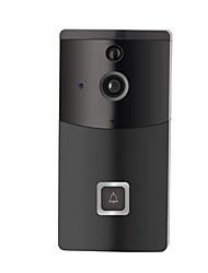Недорогие -Wi-Fi Smart Video дверной звонок мобильного телефона приложение удаленного просмотра видео домофон без батареи&усилитель, усилитель; TF карта